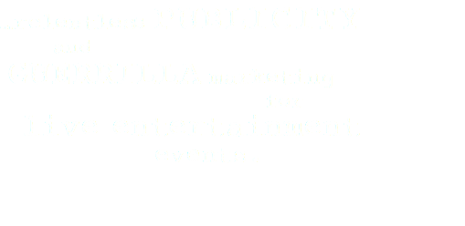 …relentless publicity and guerrilla marketing for live entertainment events.